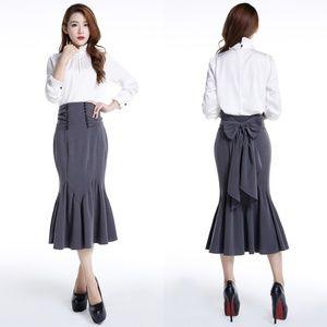 Dresses & Skirts - Plus Size Pin Up Clothing Pencil Skirt Fishtail